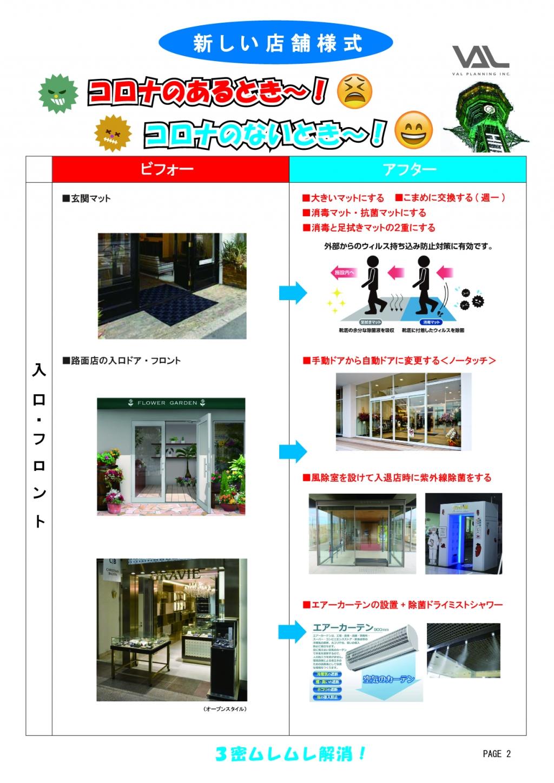 新しい店舗様式PAGE1